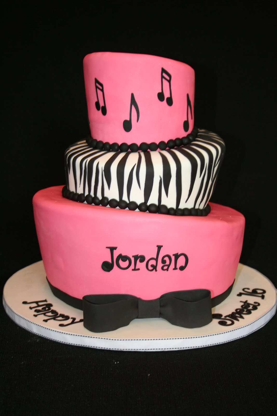 Cake Designs For Sweet Sixteen : Sweet Grace, Cake Designs: Topsy Turvy Sweet Sixteen Cake