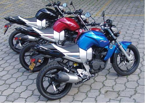 All About Motorcycle Yamaha Fz16 Bike Images In All Available Colors