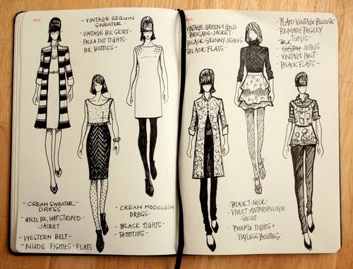 We Can 39 T Live Without A Fashion Sketch Thats Inspires Me