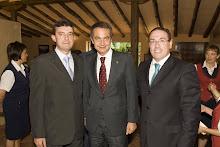 Con el Presidente del Gobierno y Aldama