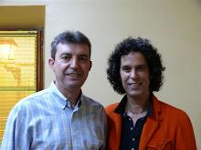 Con Pedro Zerolo, en Arnedo