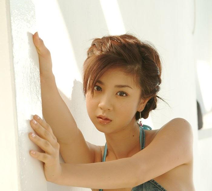 Aki Hoshino FLG: Aki Hoshiono Lingerie model