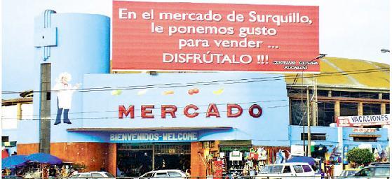 Mercado de Surquillo Lima
