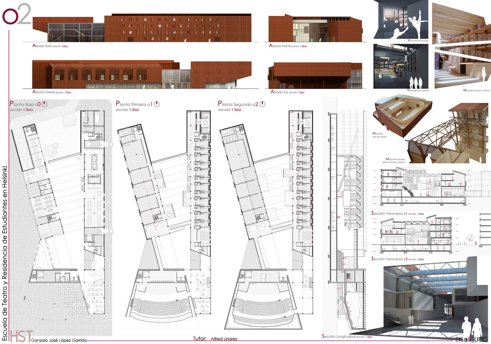 M2ds architects blog x bienal iii muestra pfc 2009 for Facultad arquitectura