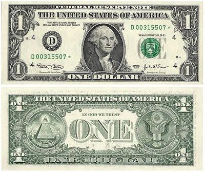billete dolar