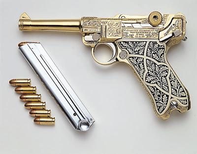 Arma Plata Oro Bañadas