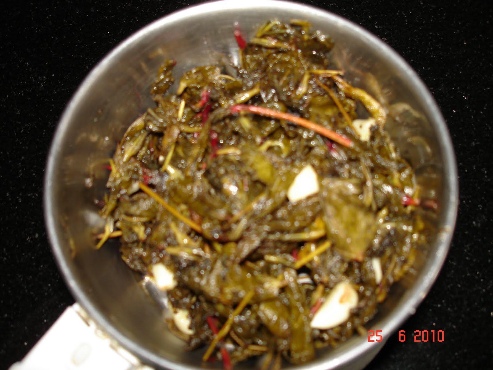 Uma cooks.......: Gongura/Sorrel leaves pickle Крутые Скейтбордисты