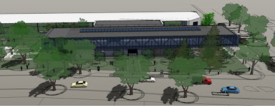Artist's view of the new NZi3 building.