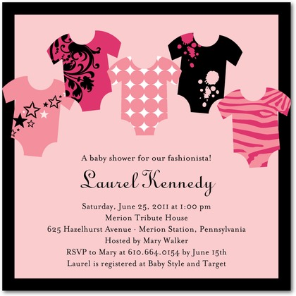 erratically elizabeth jenny 39 s baby shower invitations