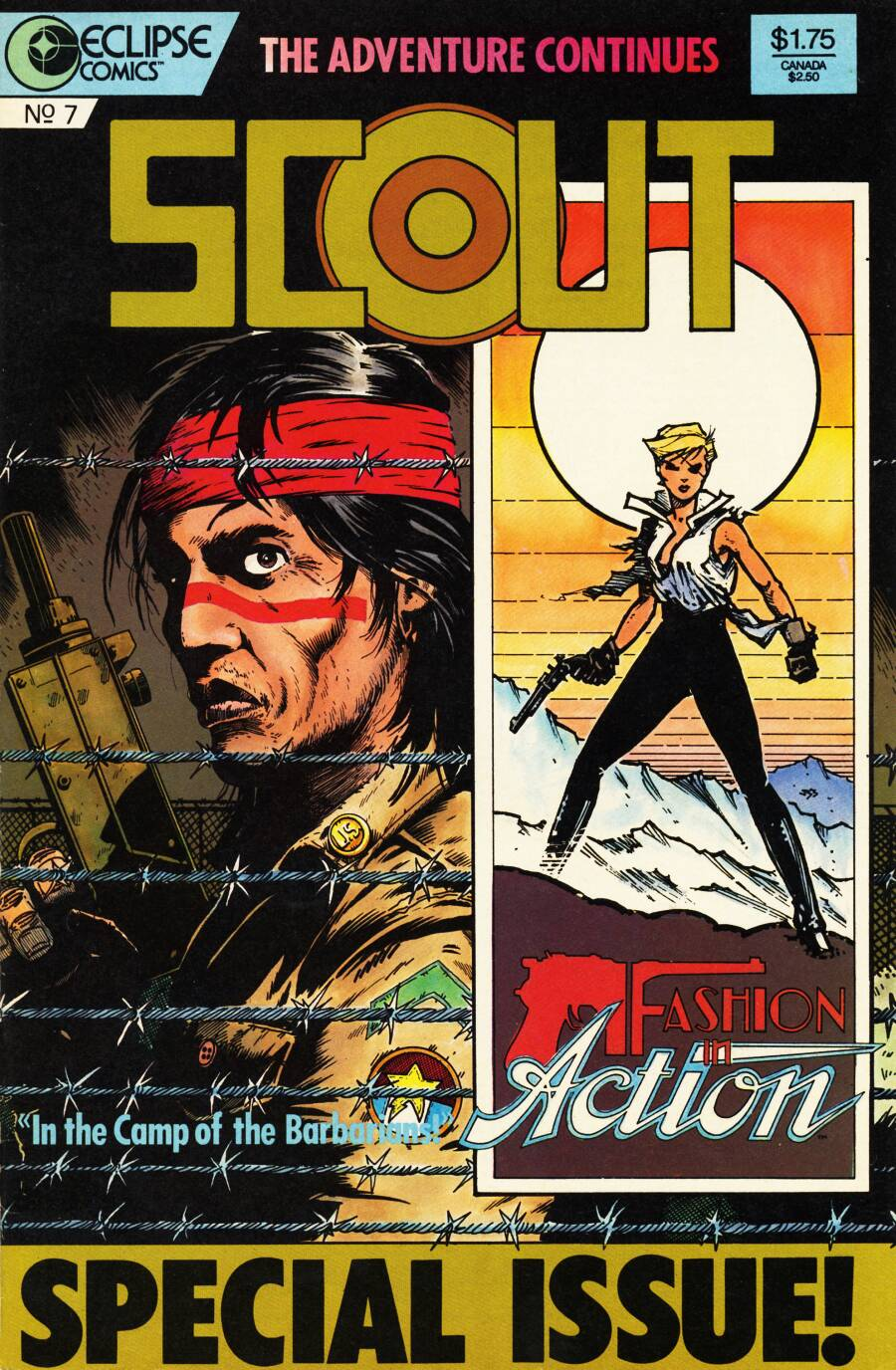 Read online Scout comic -  Issue #7 - 1