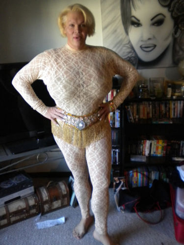 ... body stocking? e) that someone else would buy said stocking? f) other
