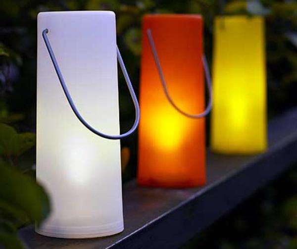 Montled l mparas led solares para el jard n - Luces exterior ikea ...