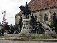 Mátyás szoborcsoport