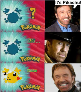 Chuck norris Who is this pokemon, pikachu, chuck norris