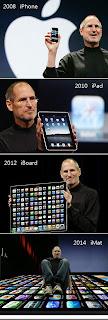 iphone ipad iboard imat, steve jobs, mac, mac demotivational