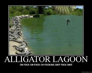 alligator lagoon, oh fuck oh fuck oh fucking shit fuck shit