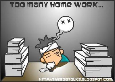 I do so many of homework перевод - I do so many