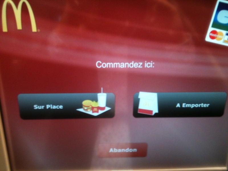Bornes interactive de commande mc do l 39 alchimie digitale for Choix ecran photo