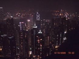 Hong Kong from The Peak.