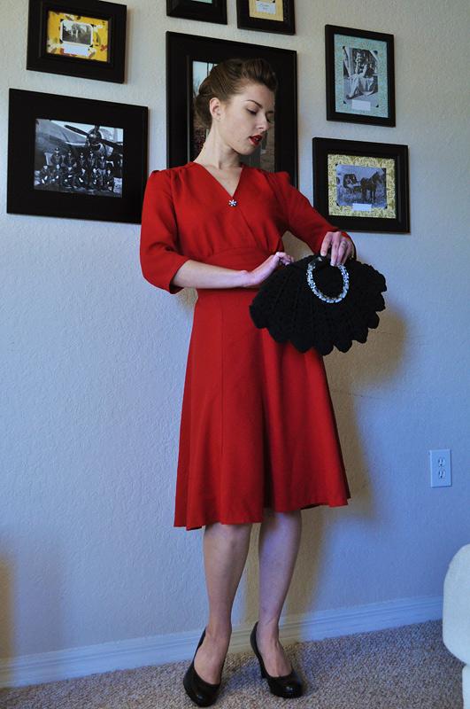 40s swing dress