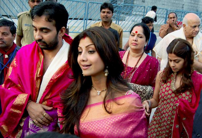 Shilpa Shetty va fêter Noël,le Nouvel An sur un bateau avec sa famille