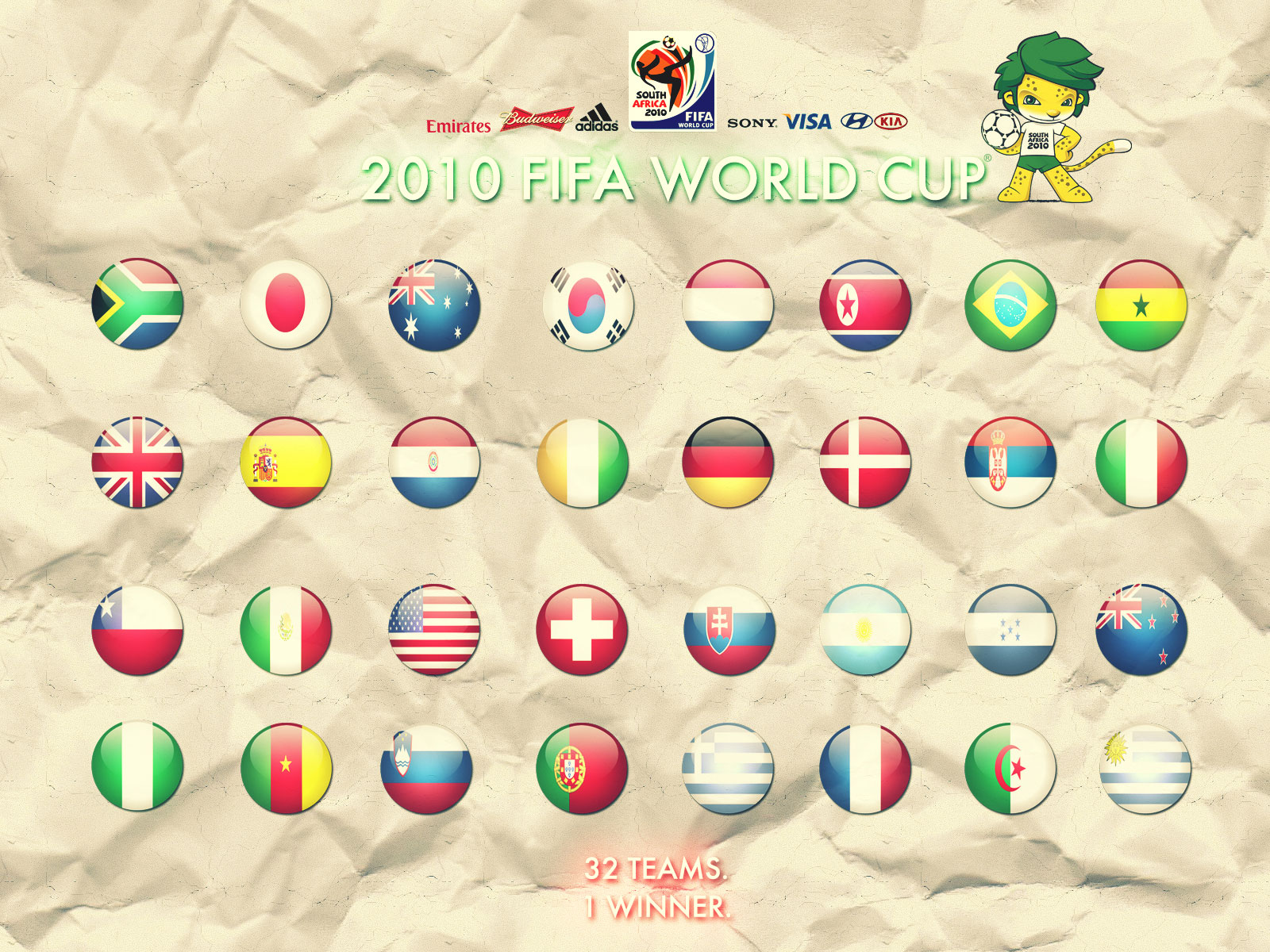 FIFA 2010 World CUP Wallpapers and Posters