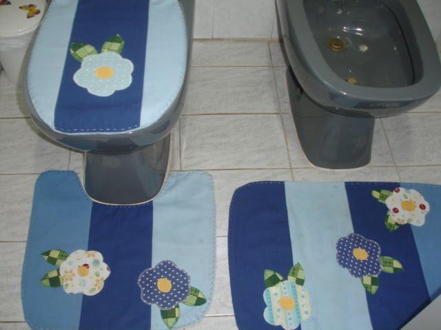 Patchwork Em Tapete De Banheiro : Encantos da Guzzy Patchwork e Customiza??es: Tapete de banheiro