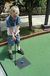 Golfing Boy