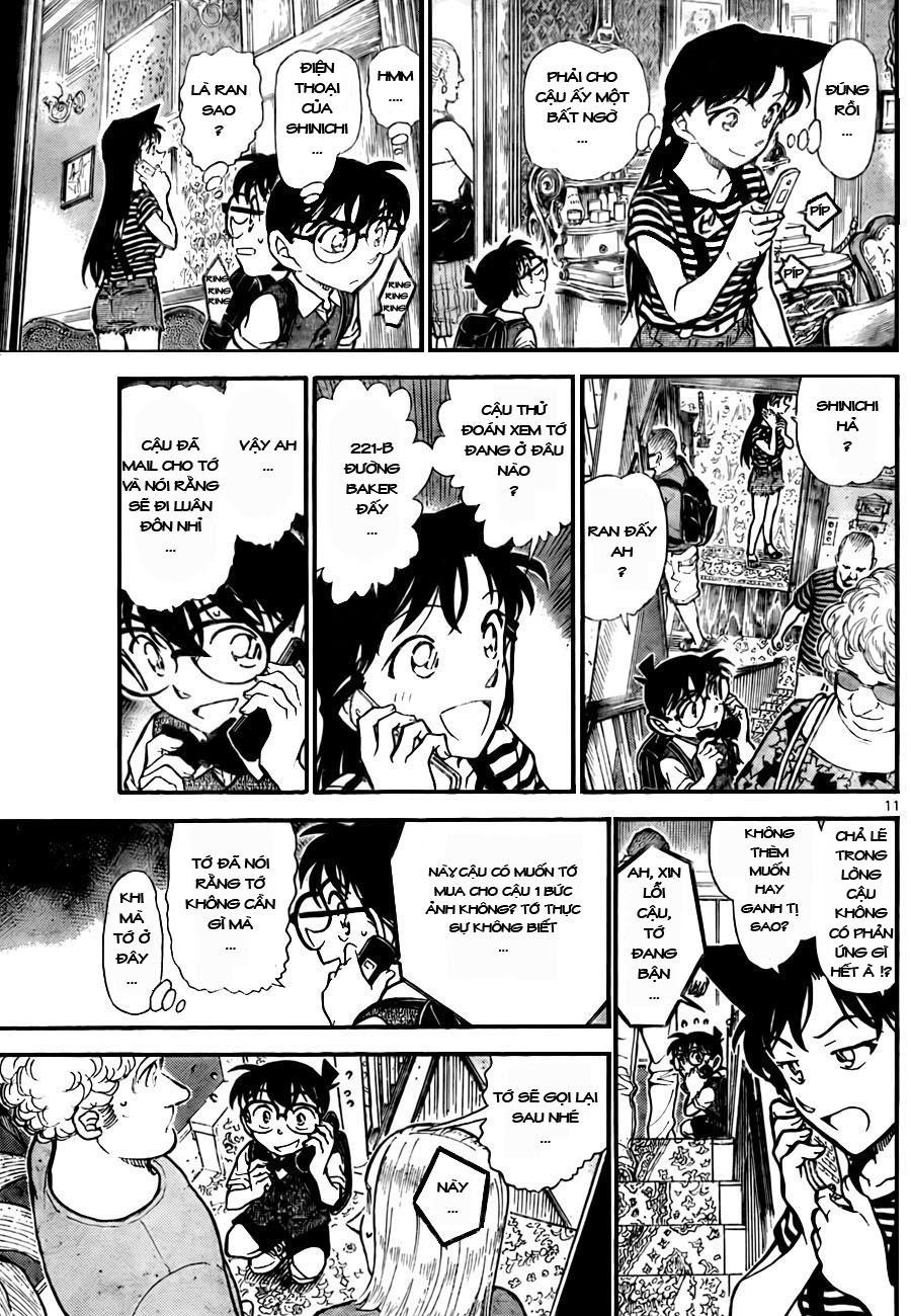 Detective Conan - Thám Tử Lừng Danh Conan chap 743 page 11 - IZTruyenTranh.com