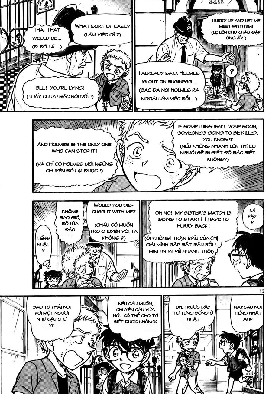 Detective Conan - Thám Tử Lừng Danh Conan chap 743 page 13 - IZTruyenTranh.com