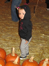 MORGAN AT THE PUMPKIN PATCH