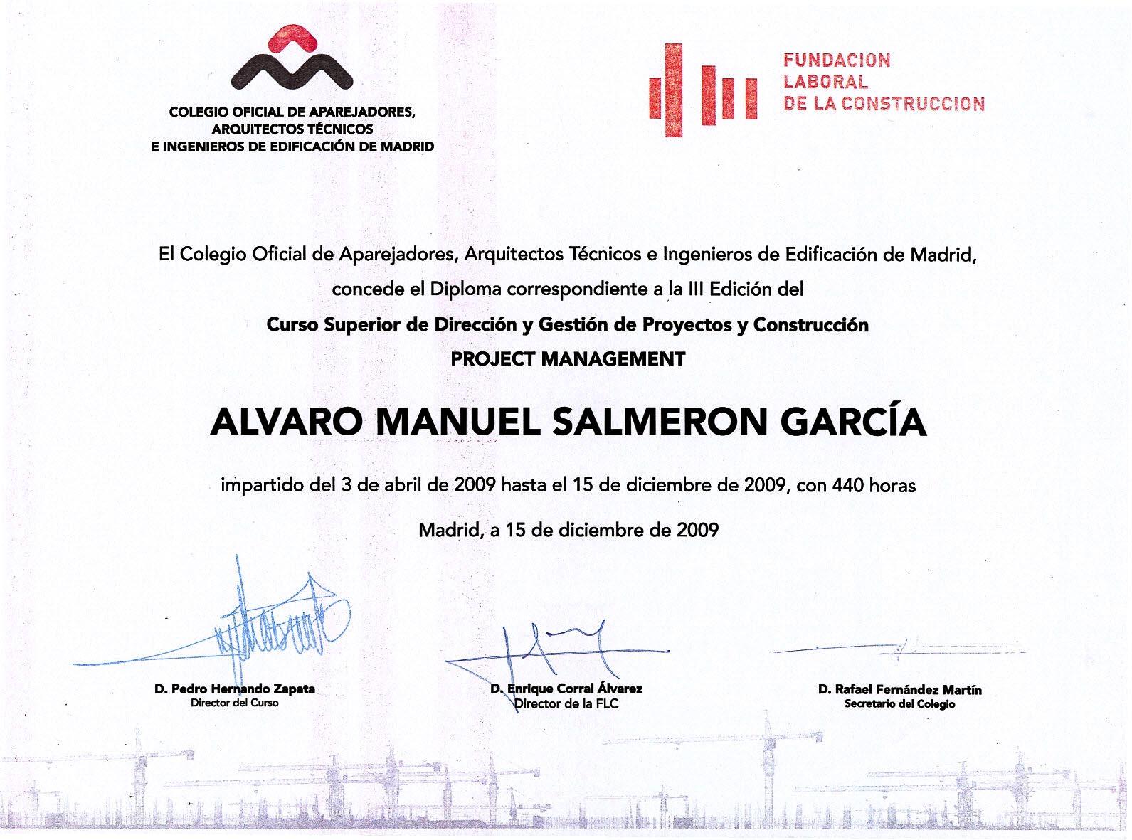Colegio Oficial de Aparejadores y Arquitectos Técnicos de