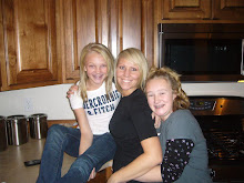 Aunt Melissa with Kirsten and Courtney