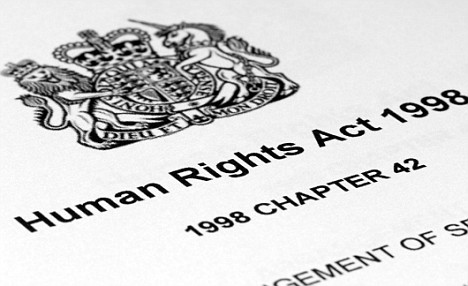 article 8 the human rights act