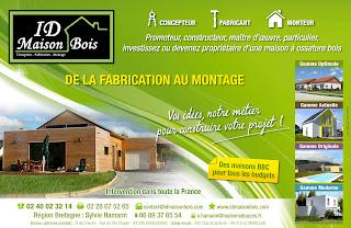 Id maison bois vos id es notre m tier pour construire for Id maison bois