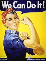 We can do it Rosie the riveter