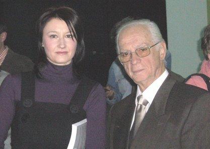 """Cu scriitorul Octavian Sava, la emisiunea """"Ne vedem la TVR"""", ianuarie 2008"""