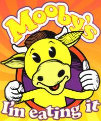 Но идолом может стать не только святой образ, а и бычок Mooby.