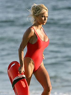 pamela anderson. Pamela Anderson in Baywatch