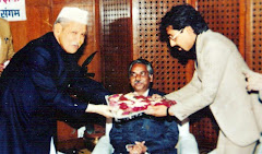 Former President Dr. Shankar Dayal Sharma & MySelf