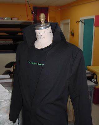 Final Fantasy 7 Sephiroth Coat Close-Up