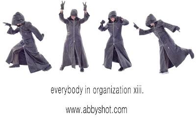 Kingdom Hearts Organization 13 GAP Parody Ad by AbbyShot