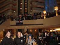 Dragon*Con size crowds at the Marriott Marquis