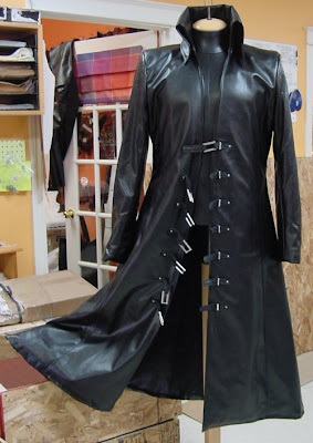The AbbyShot Sephiroth Coat - Opened