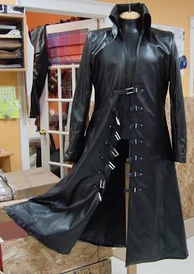 The AbbyShot Sephiroth Coat - Opened