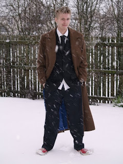 Tenth Doctor Who Coat from AbbyShot - Customer Photo 1