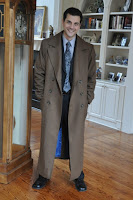 AbbyShot Customer Robert in his Tenth Doctor's Coat from Doctor Who, Photo 2