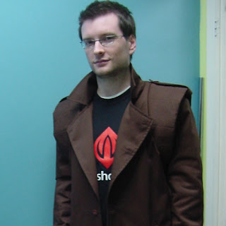 AbbyShot's Prototype of the Metal Gear Inspired Liquid Snake FOXHOUND Coat - Showing Off the Lapels