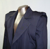 The FOXHOUND Coat from AbbyShot, Inspired by Metal Gear Solid - Shoulder Closeup