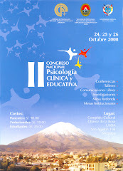 II Congreso Nacional de Psicologa Clnica y Educativa